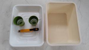 自作の水耕栽培キット